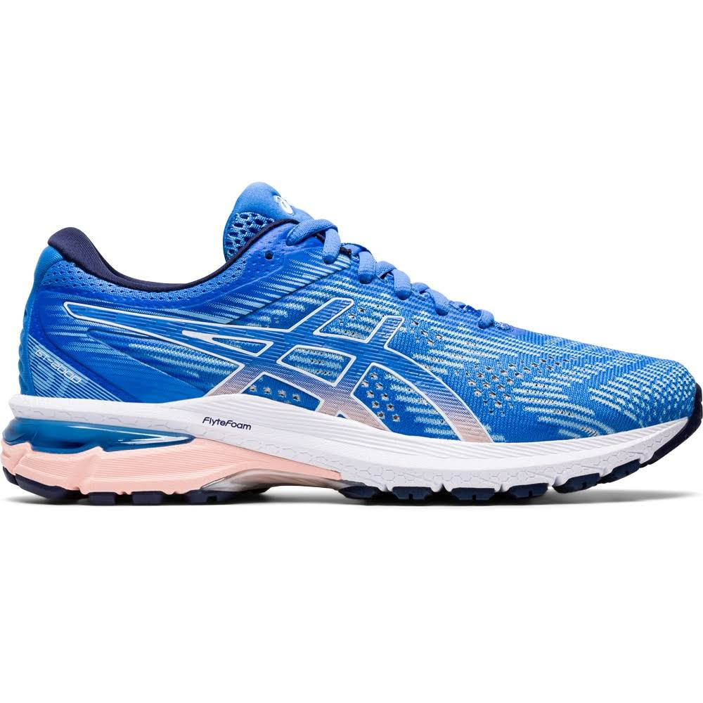 Asics Women's GT 2000 8 - Blue - Coast - White - 7.5 - B