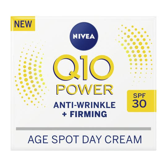 Nivea Q10 Power Anti Wrinkle and Firming Age Spot Day Cream - SPF30, 50ml