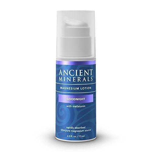 Ancient Minerals Magnesium Lotion - Goodnight, 2.5oz
