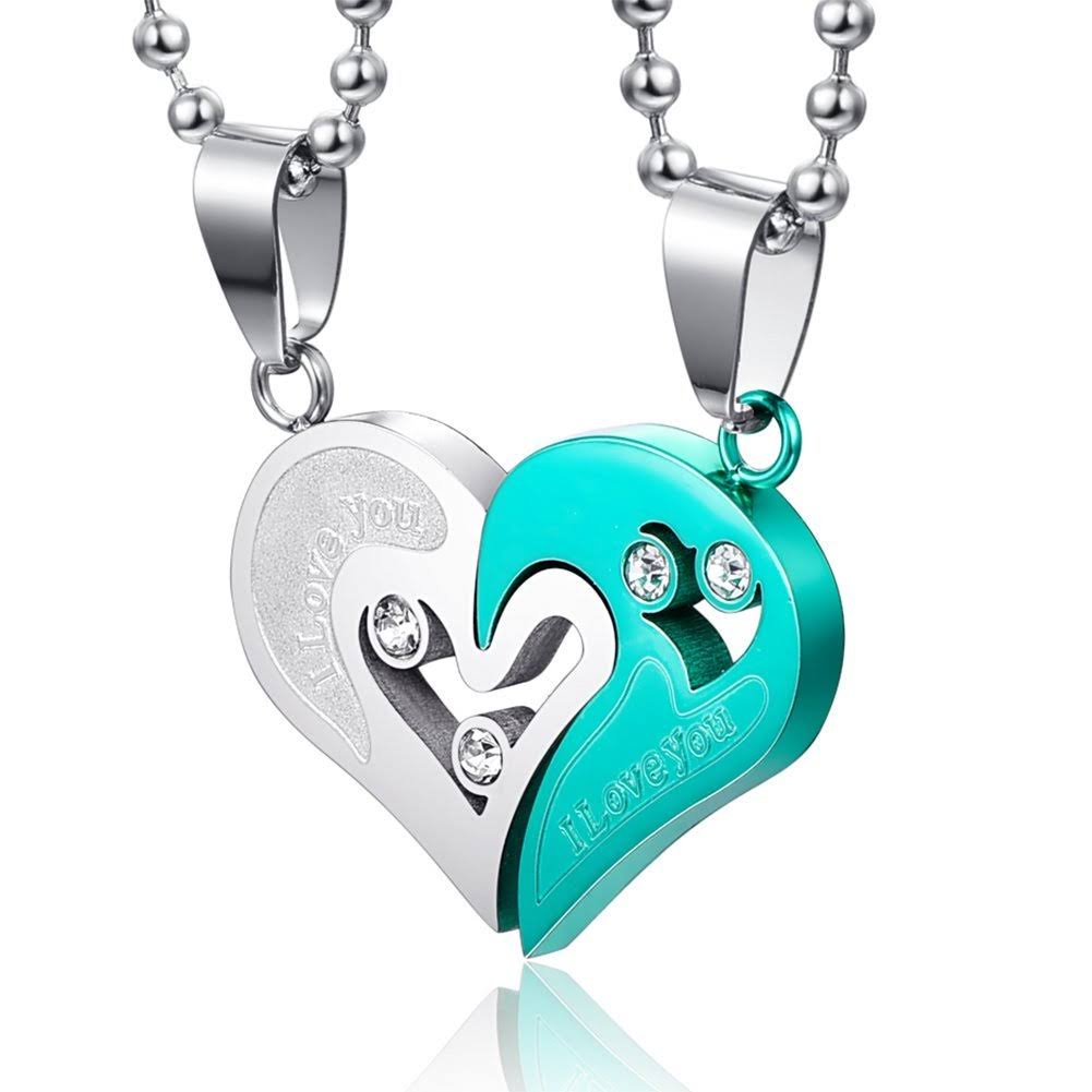 Jewel Panda Women's Couple Necklace Pendants