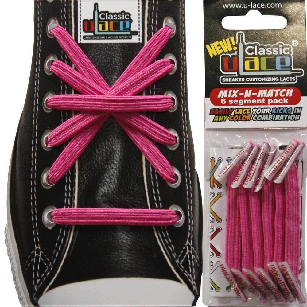 U-lace Mix-N-Match by U-lace in Hot Pink