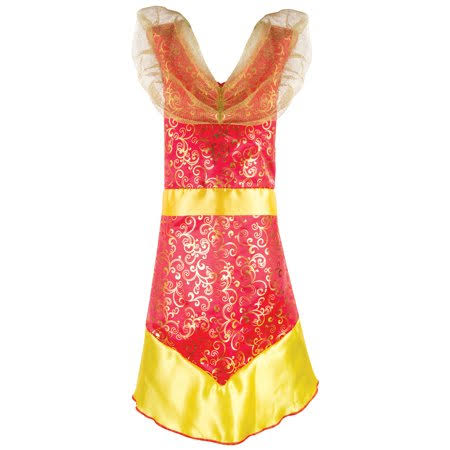 Adorbs Red Fire Dress, Pretend Play Dress Up Costume, Girl's