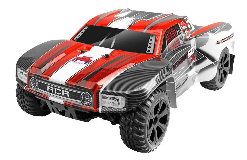Redcat Racing Blackout SC 4x4 Short Course Truck - Electric Red