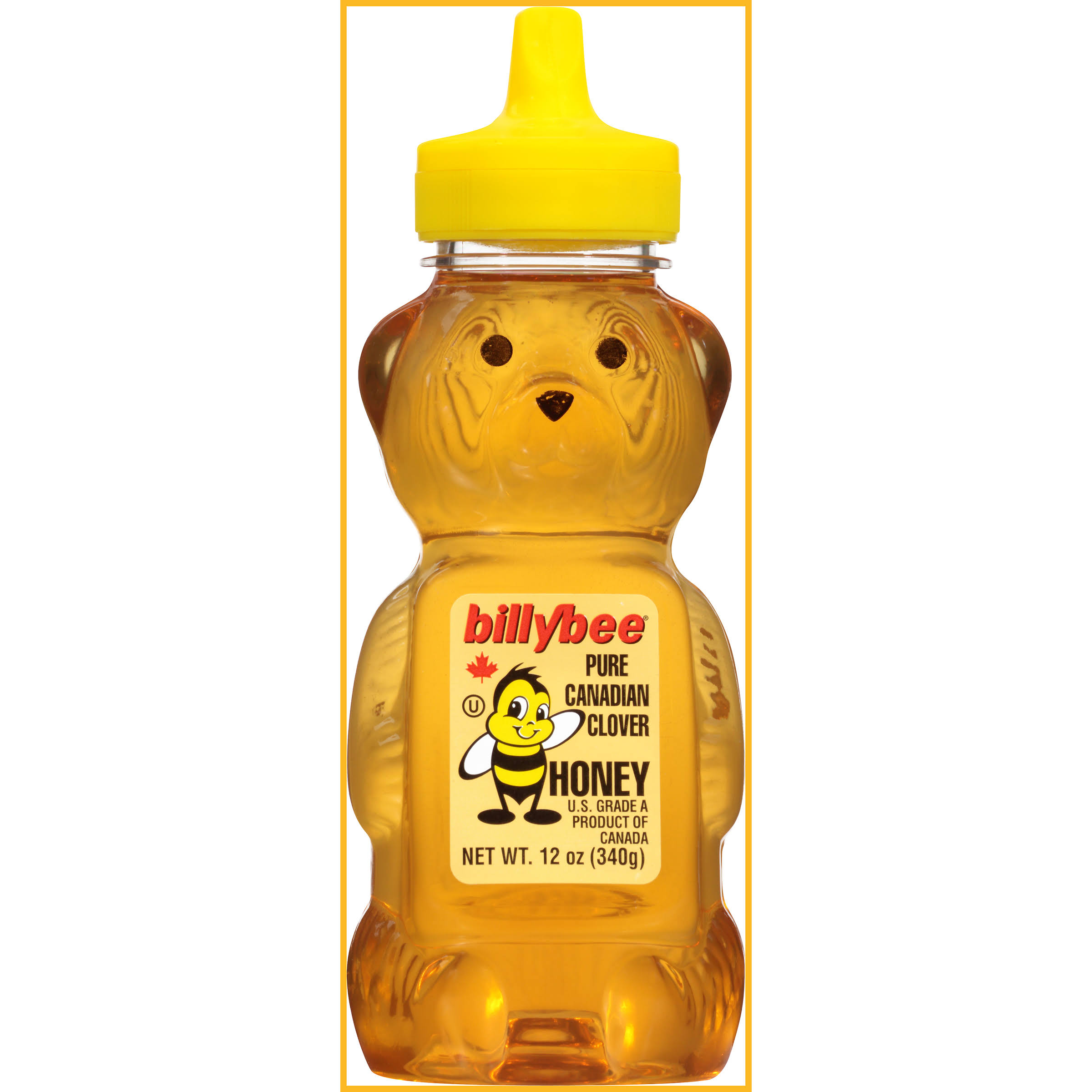Billy Bee Pure Liquid Natural Honey - 12oz