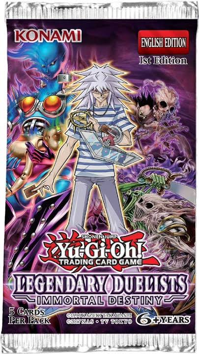 Yu-Gi-Oh Legendary Duelists: Immortal Destiny Booster Pack