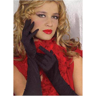 Adult 18 inch Black Nylon Gloves Jacobson Hat 18992