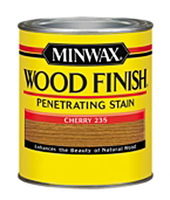 Minwax Wood Finish Interior Wood Stain - Cherry, 1/2 pint