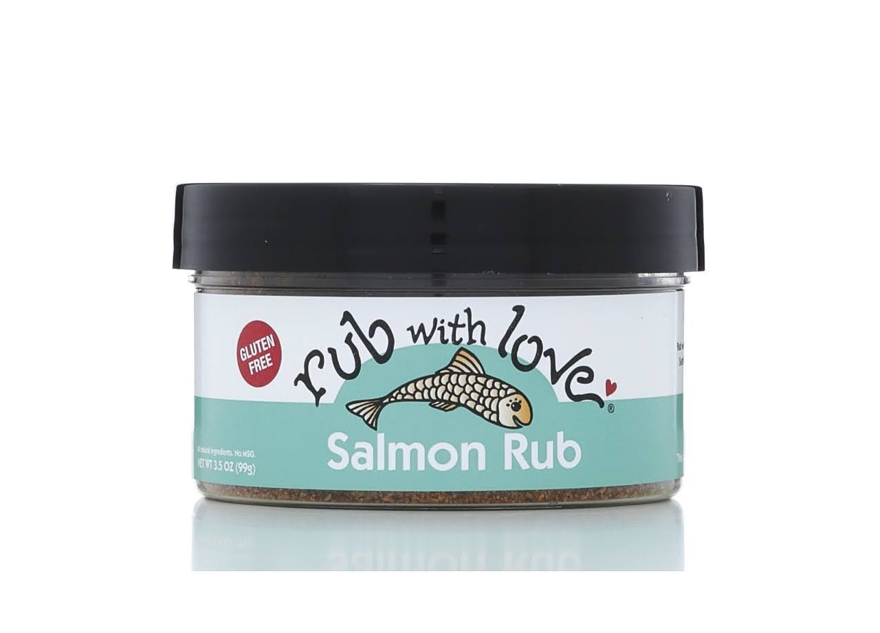 Rub With Love Salmon Spice Rub - 3.5oz