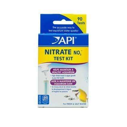 API Nitrate Test Kit For Fresh/Saltwater - 90 Tests
