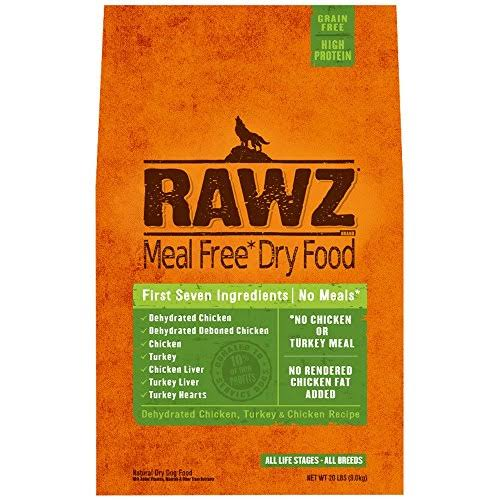 Rawz Meal Free Dry Dog Food - Dehydrated Chicken