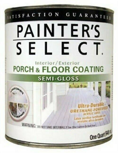 True Value Mfg Porch and Floor Neutral Base Semi Gloss Acrylic Coating - 1qt