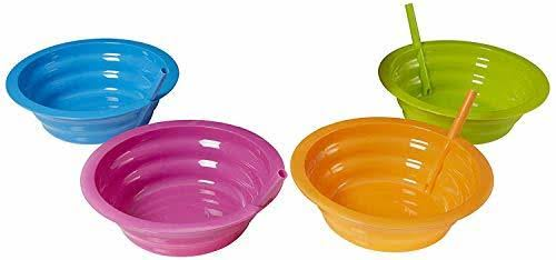 Arrow Home Products Sip a Bowl - 4pk, Assorted Colors