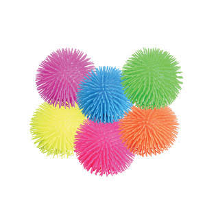 Rhode Island Novelty 5 inch Puffer Ball (12-Pack)