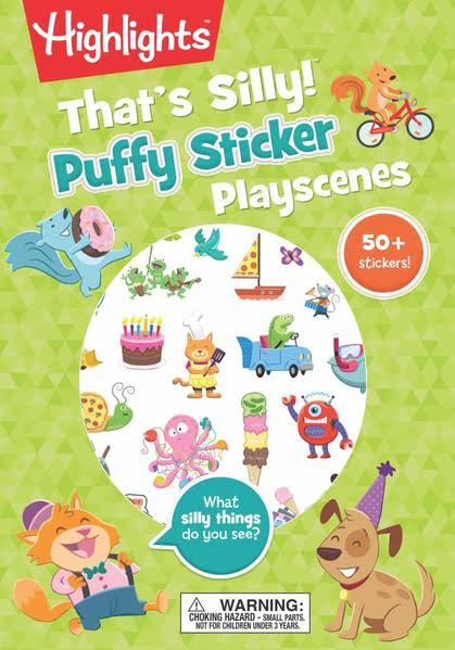 That's Silly! Puffy Sticker Playscenes - Highlights Press
