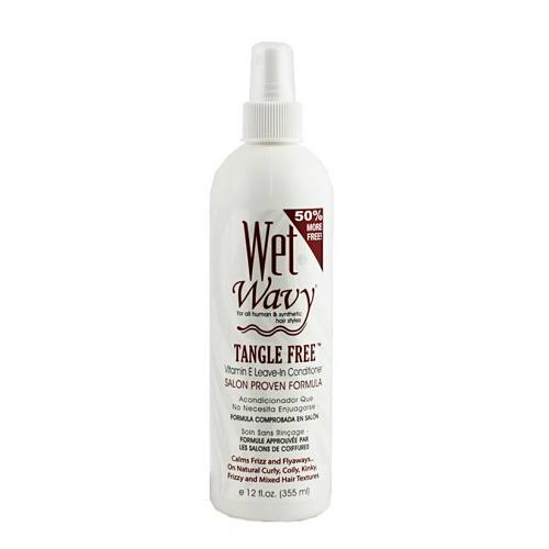 Wet N Wavy Tangle Vitamin E Leave-In Conditioner