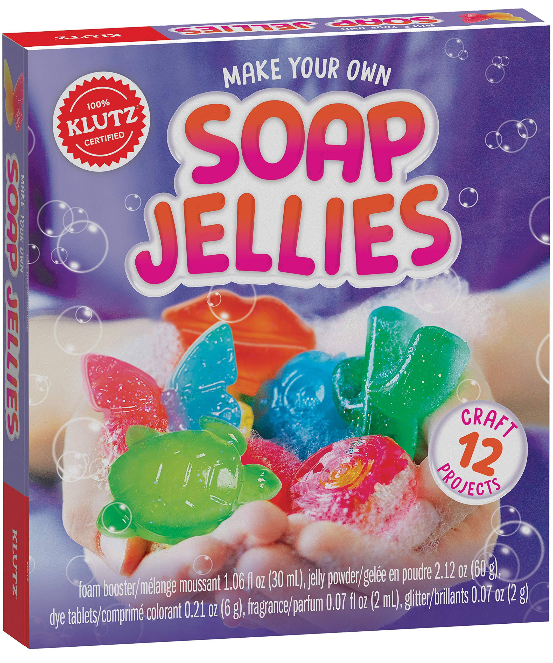 Klutz Make Your Own Soap Jellies Kit