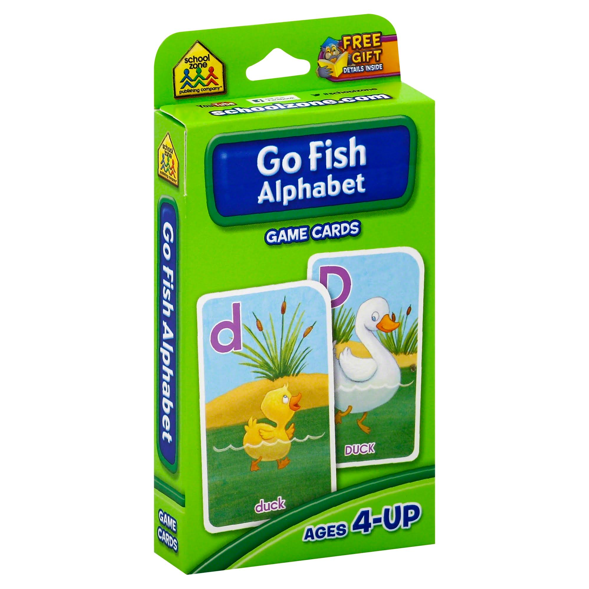 Go Fish Alphabet Game Cards