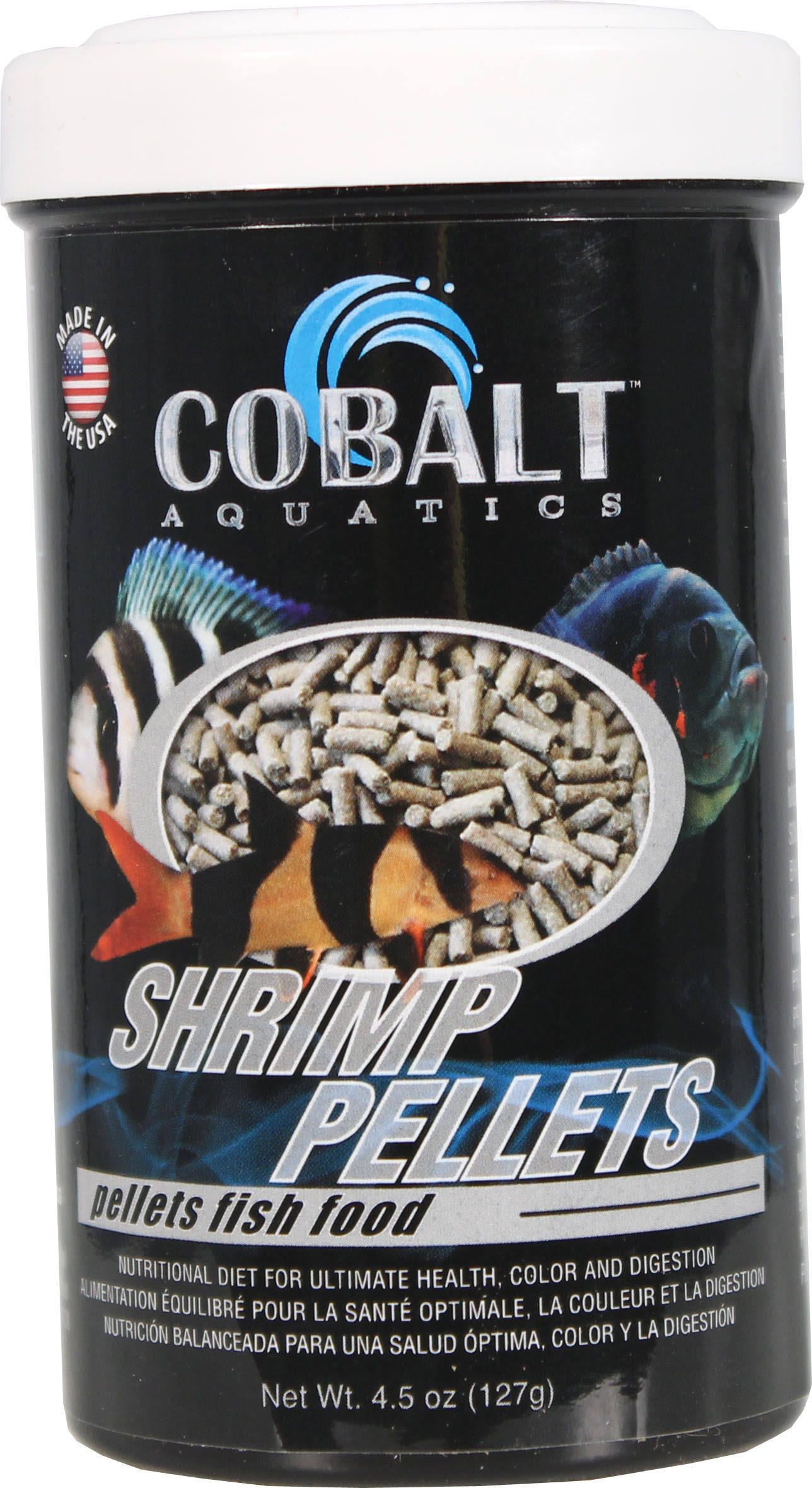 Cobalt Aquatics Shrimp Pellets Fish Food