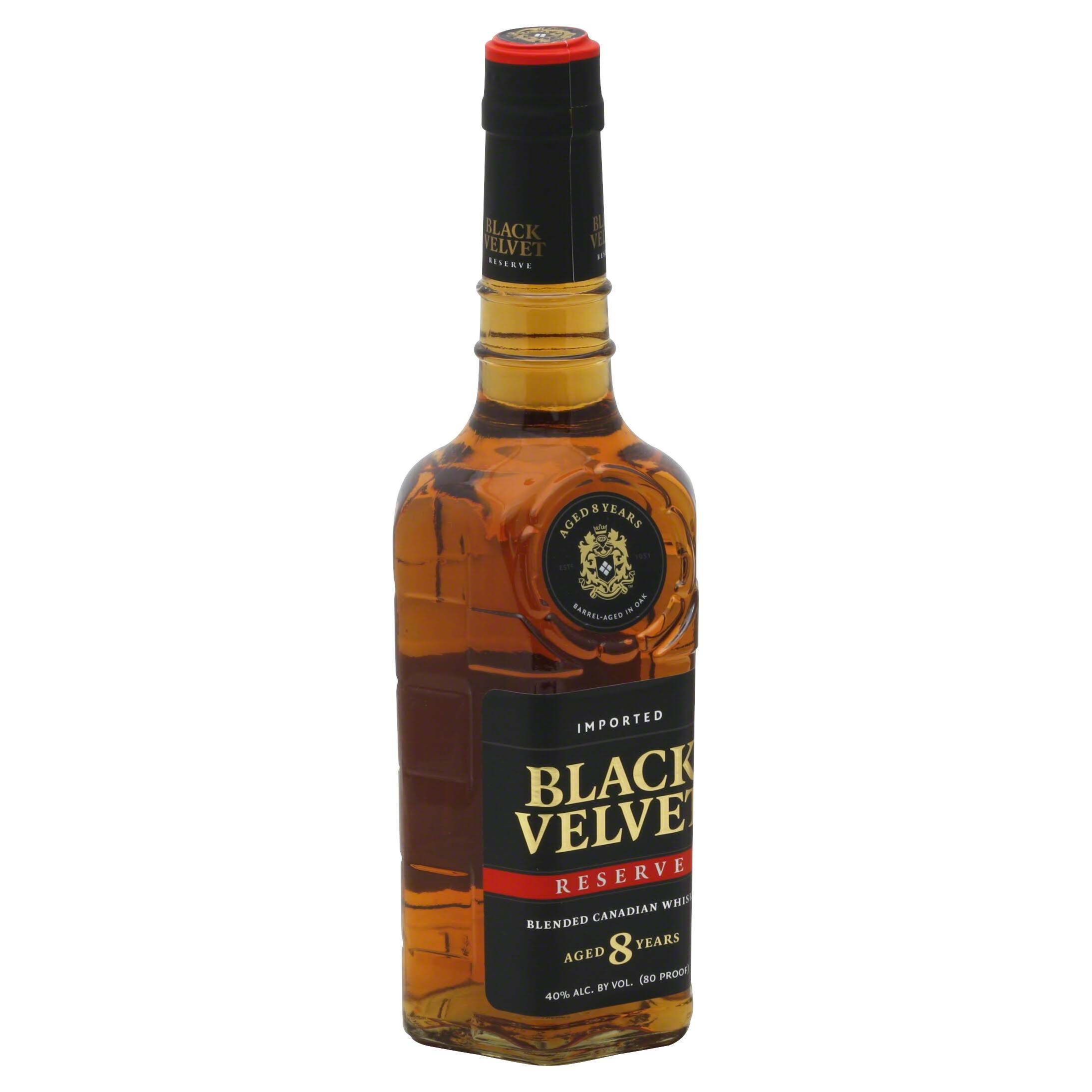 Black Velvet Reserve Whisky - 750ml