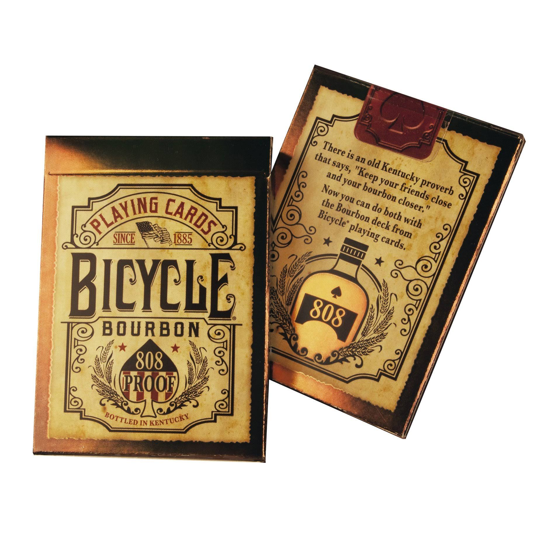 Bicycle Playing Card Deck - Bourbon, 52ct