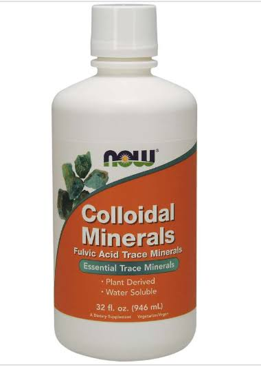 Now Foods Colloidal Minerals - 32oz
