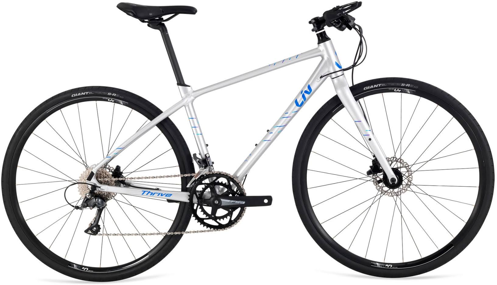 Liv Thrive 3 2019 Hybrid Bike Silver - Small