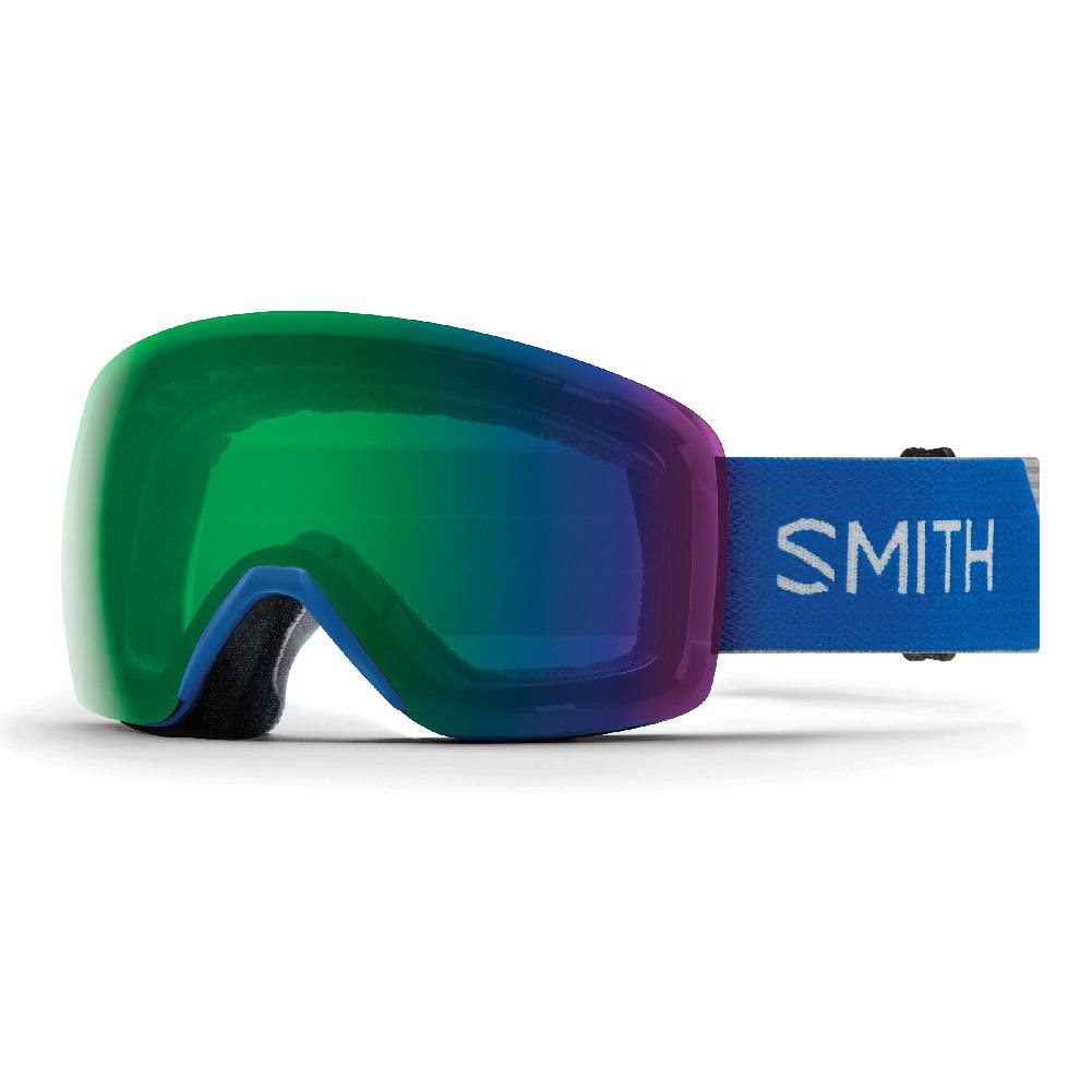 Smith Skyline Goggles Imperial Blue/ChromaPop Everyday Green Mirror