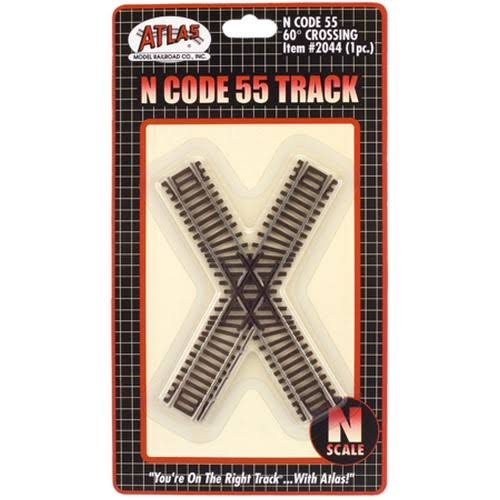 Atlas 2044 N Scale Code 55 60 Degree Crossing