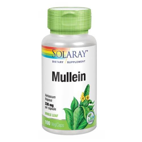 Solaray Mullein Supplement - 100 Capsules