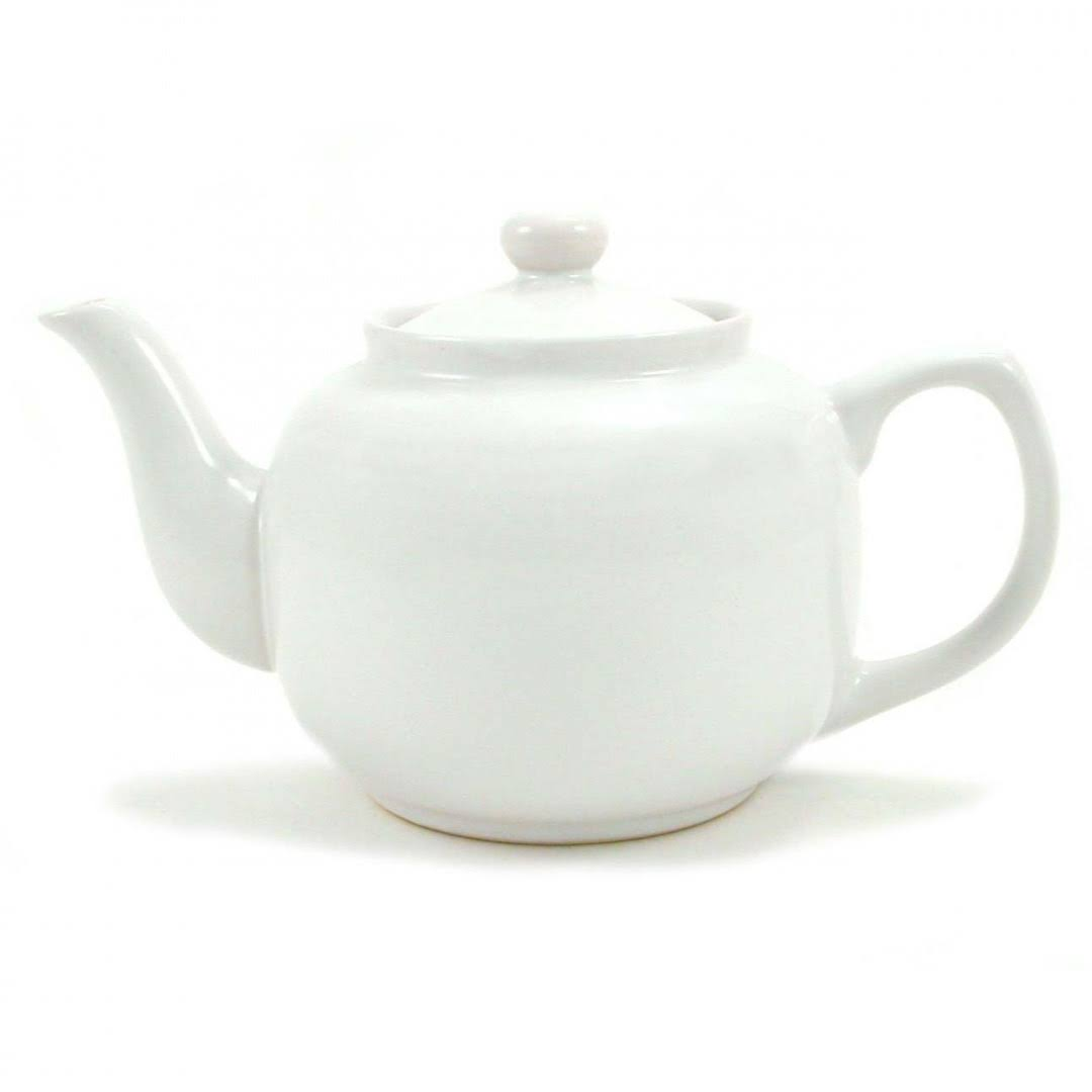Amsterdam 6 Cup Teapot - White