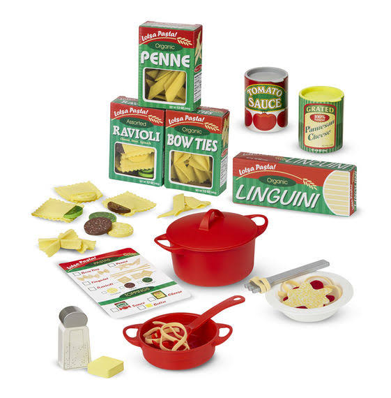 Melissa and Doug Prepare and Serve Pasta Play Set