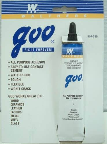 Walthers 904-299 Goo Cement Glue - 1oz