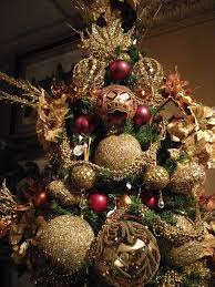 Raz Gold Christmas Trees by Red Gold And Copper Tree Check More At Http Hrenoten Com