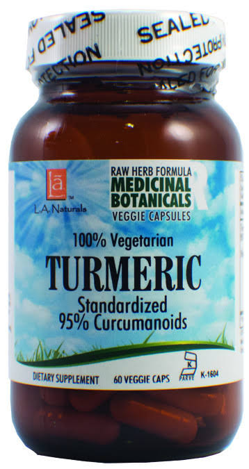 LA Naturals Turmeric Raw Formula Dietary Supplement - 30ct