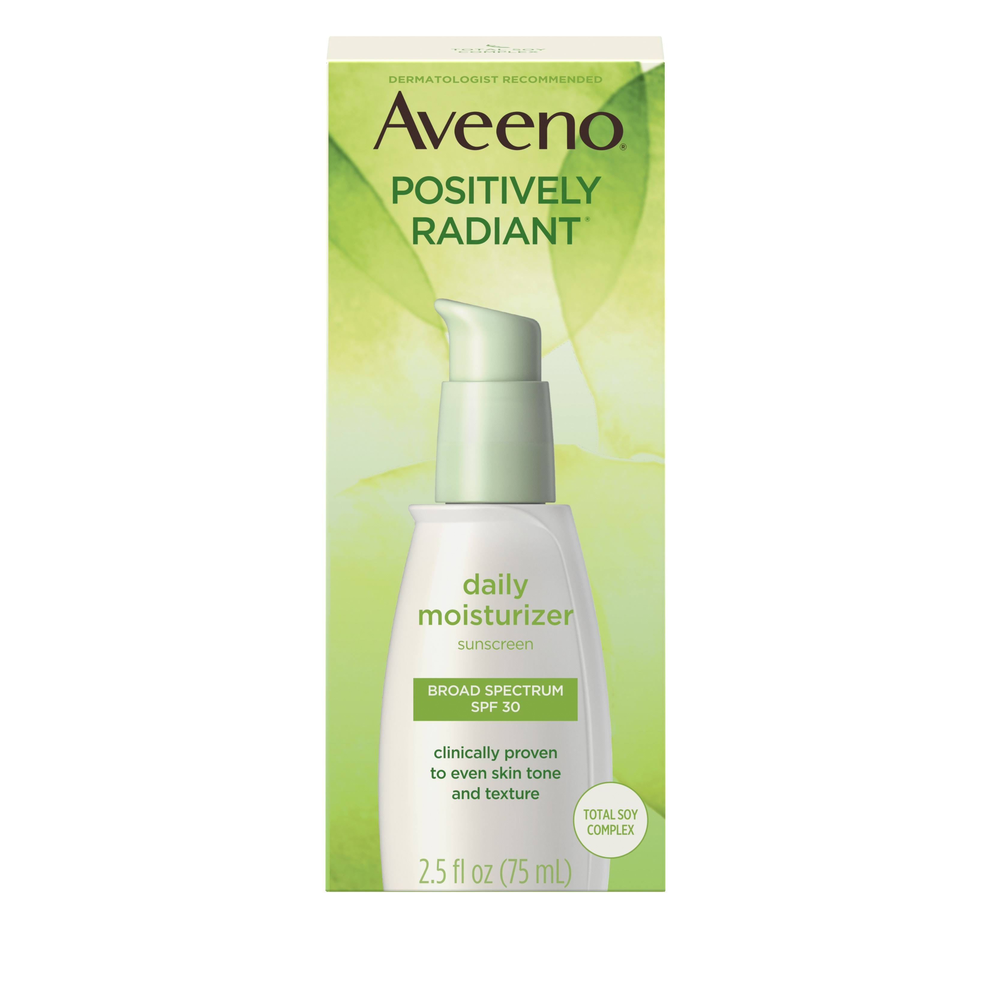 Aveeno Active Naturals Positively Radiant Daily Moisturizer - SPF30