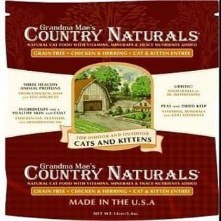 Grandma Mae's 79700153 12 lb Country Naturals Grain Free Cat, One Size