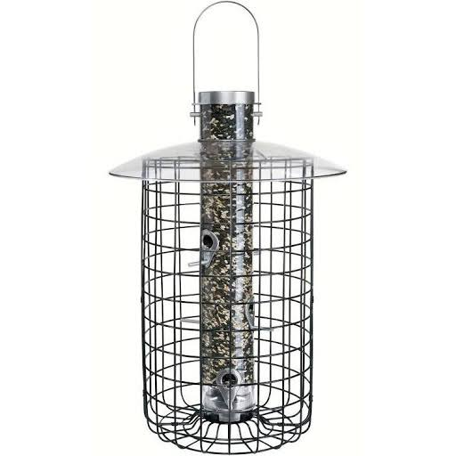 Droll Yankees B7 Domed Cage Feeder - Black, 2.5lbs