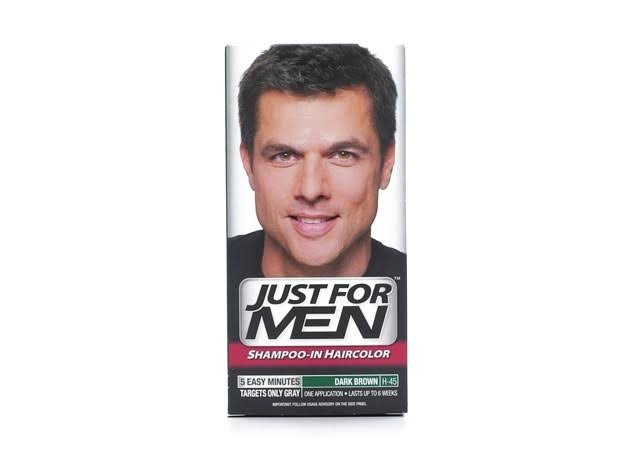 Just For Men Original Formula Men's Hair Color - Dark Brown