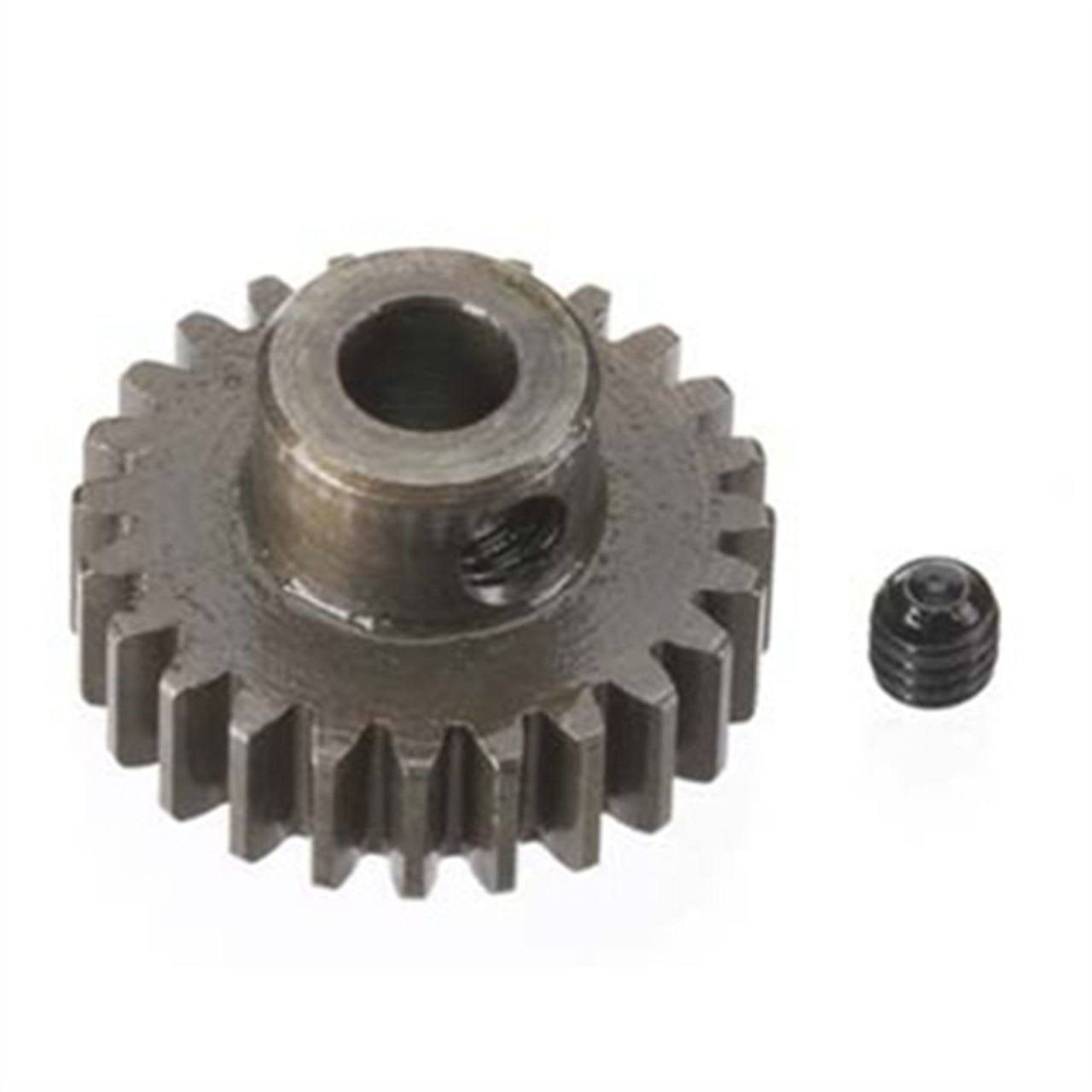 Robinson Racing 8724 Hard Bore 0.8 Module Pinion Gear - 24T, 5mm