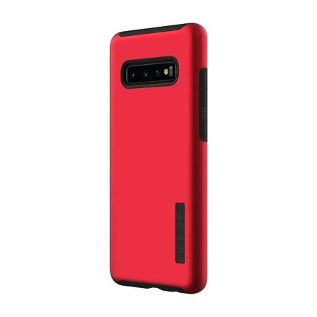 Incipio - DualPro Case for Samsung Galaxy S10+ - Black/Iridescent Red