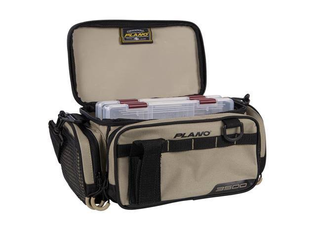 Plano PLAB35111 2-3500 Stowaways Weekend Series Tackle Case Tan