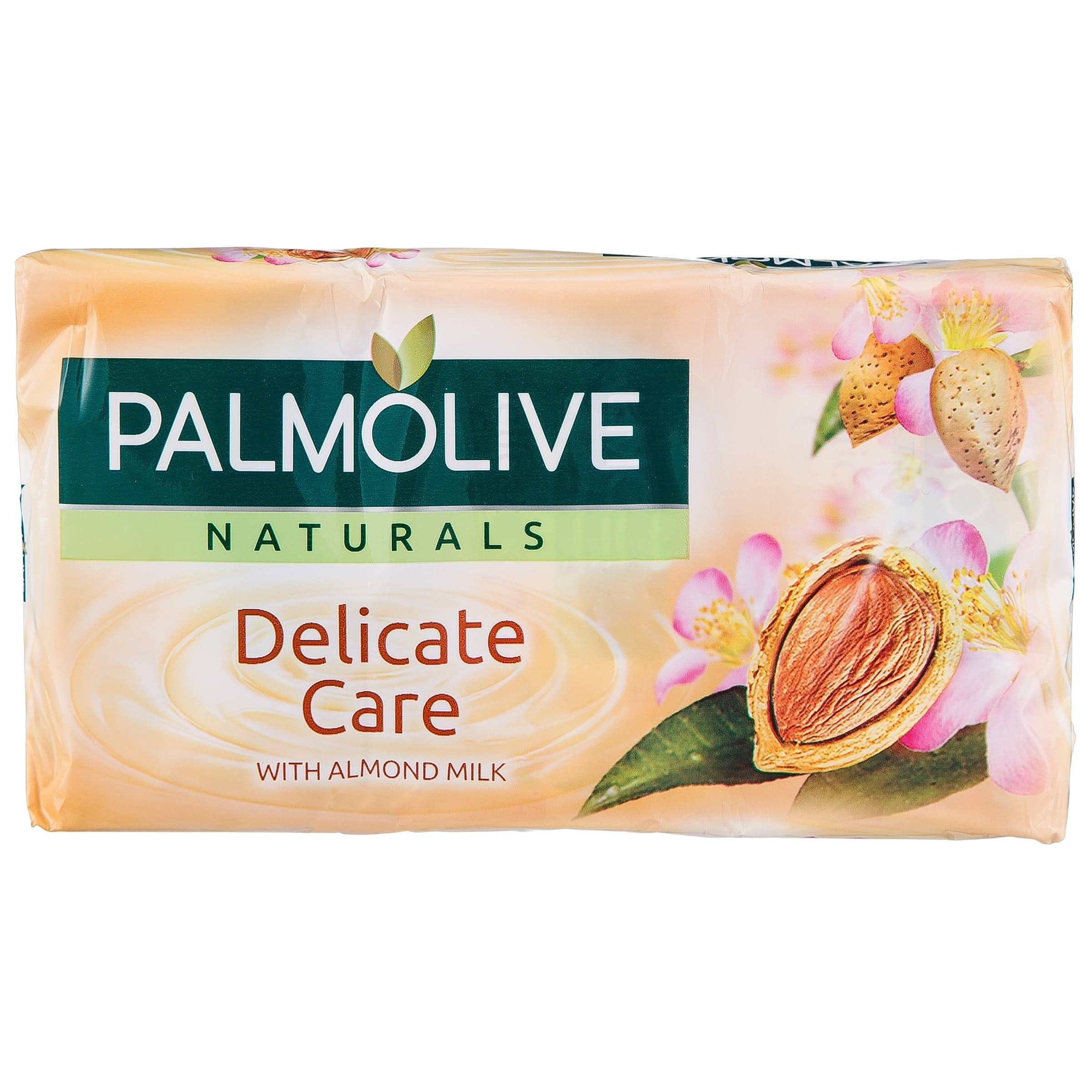 Palmolive Naturals Delicate Care Soap Bar - Almond Milk, 90g, 3ct