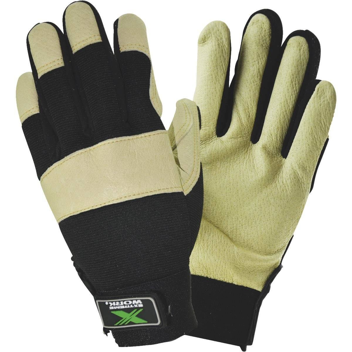 West Chester Protective Gear Pigskin Leather Work Glove