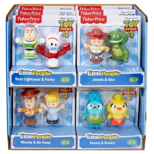 Fisher-Price Little People Toy Story 4 2-Pack Figure (Assorted)