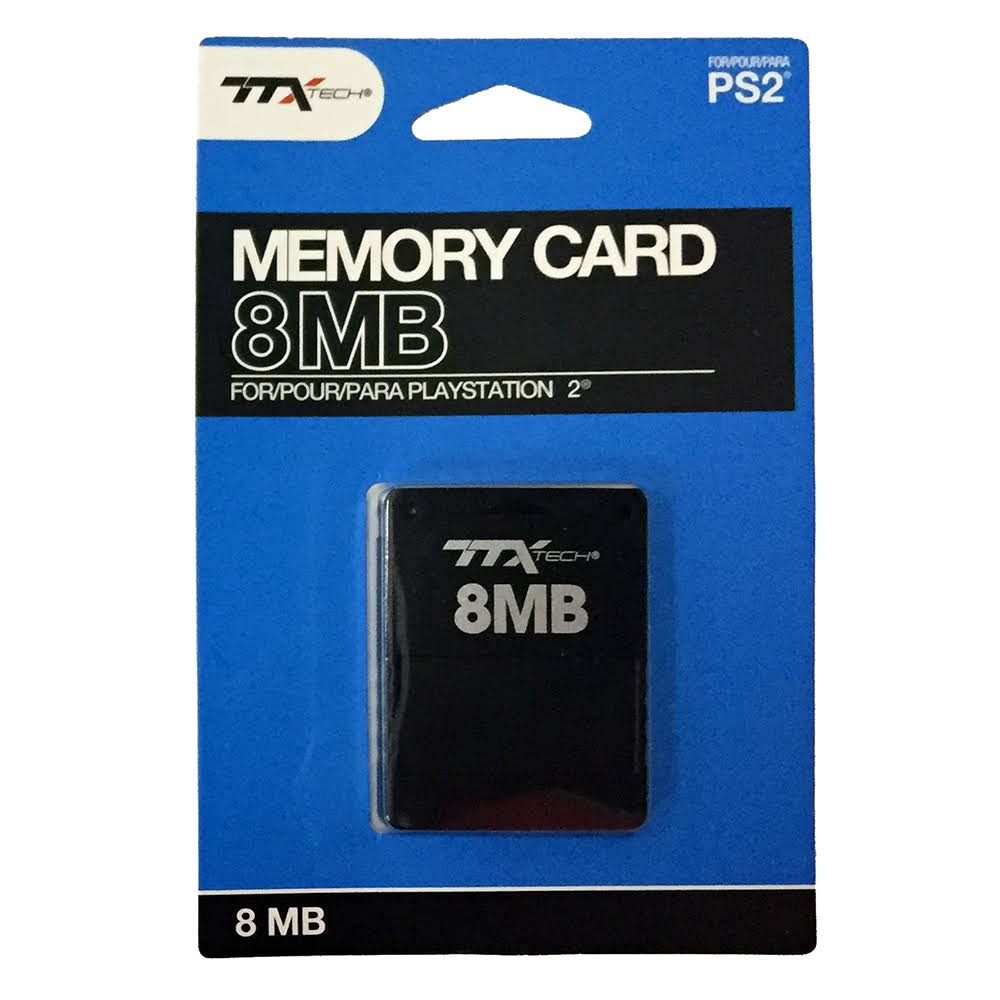 ttx Tech PlayStation 2 Memory Card 8MB