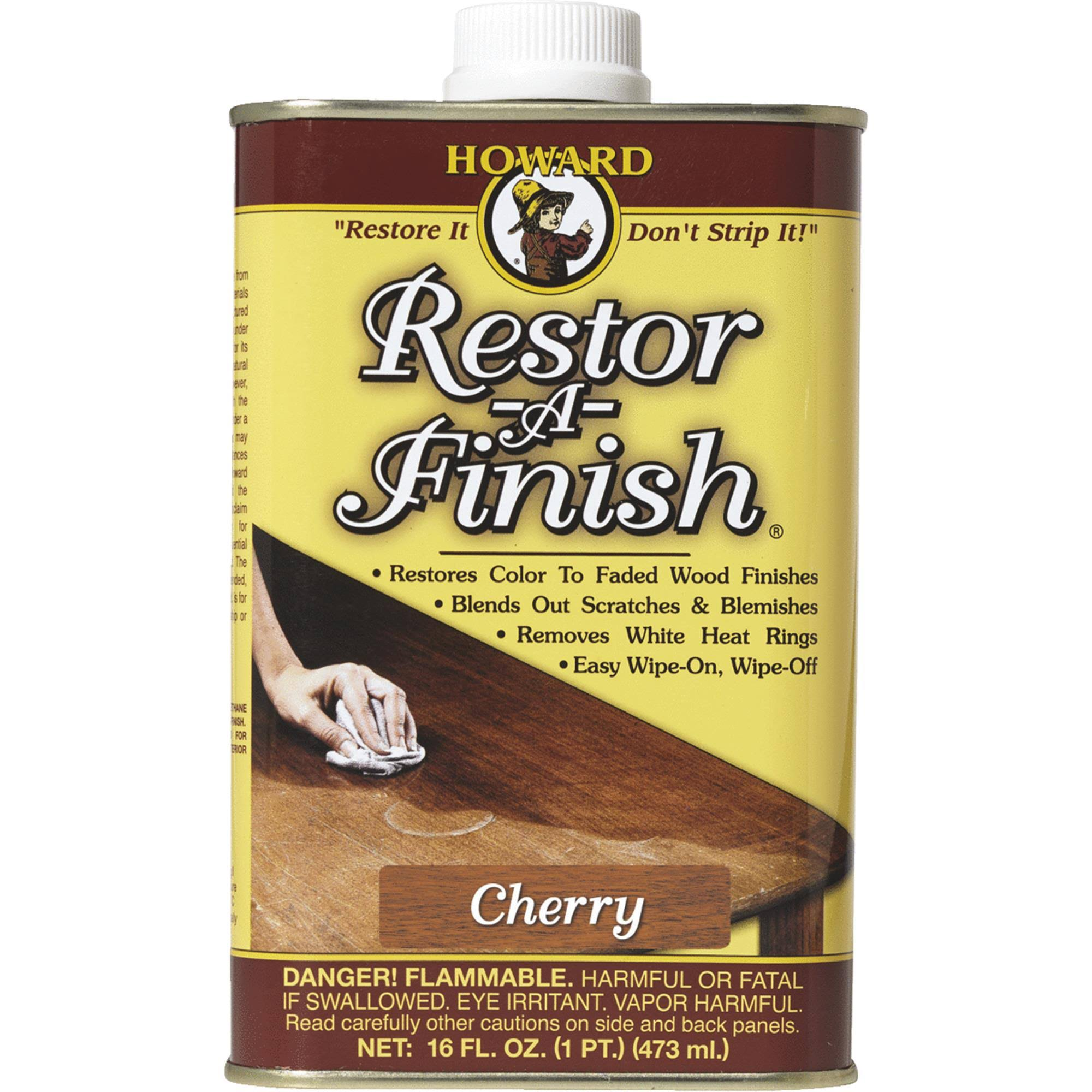 Howard Products Restor-A-Finish - Cherry, 16oz