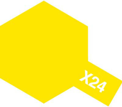 Tamiya Acrylic Mini X-24 Clear Yellow (10ml)
