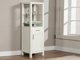 Tall Narrow Linen Cabinet With Doors by Tall Narrow White Linen Cabinet Med Art Home Design Posters