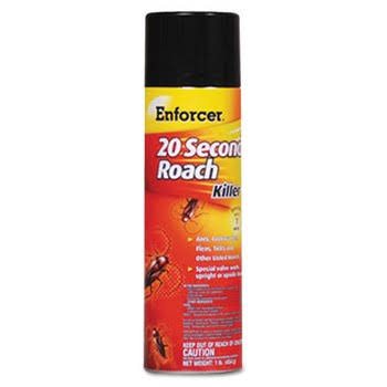 Enforcer 20 Second Roach Spray Killer