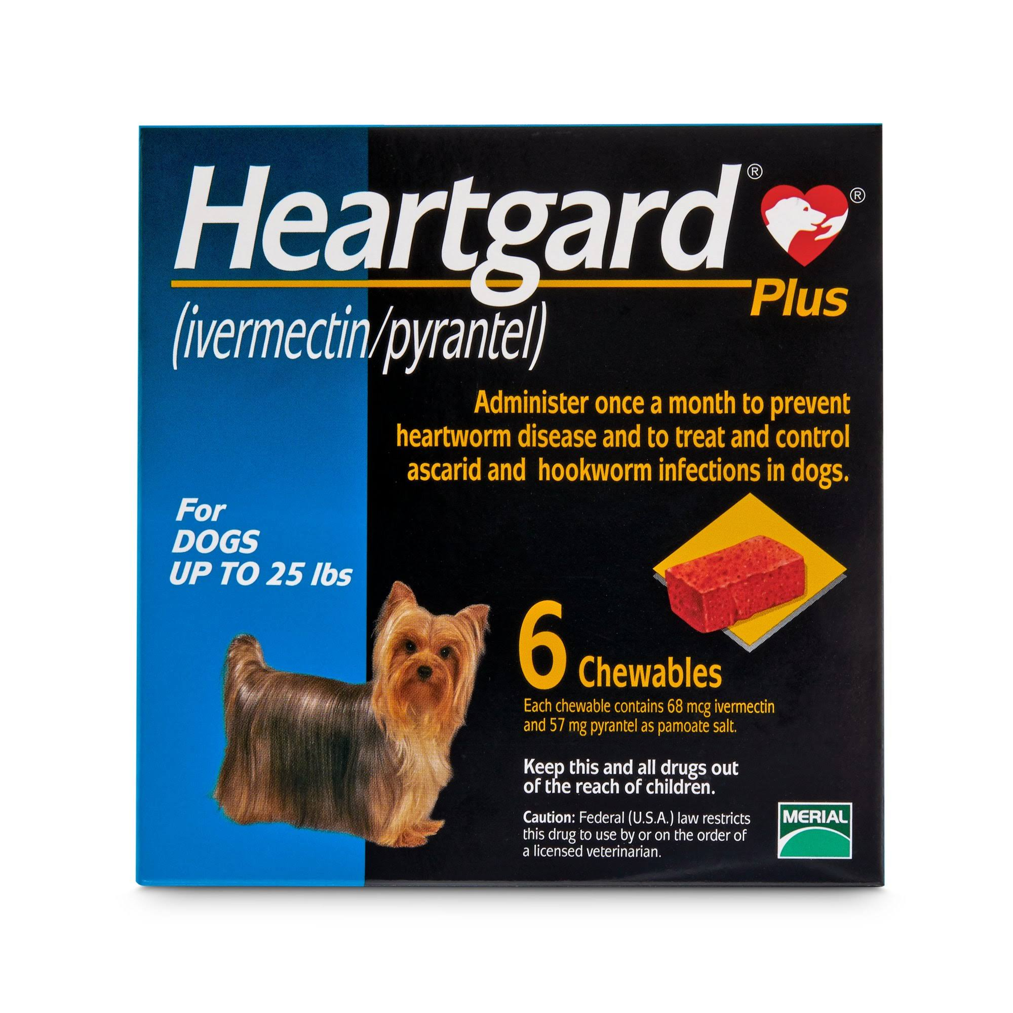 Heartgard Plus Dogs Chewables - Blue, 6ct